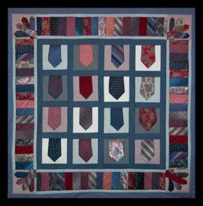 Tie quilt idea